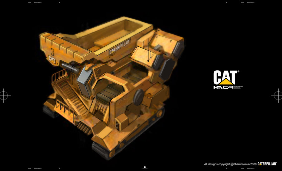 Caterpillar Transport by NuMioH