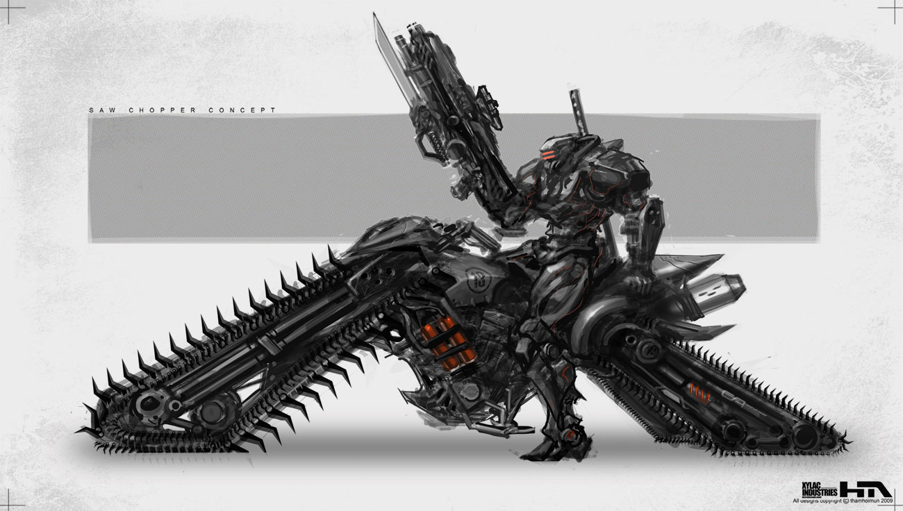 Chainsaw Chopper By NuMioH On DeviantArt