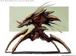 Bio Mechanical Alien Walker