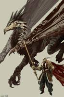 Northern Tribe Dragon Rider. Substrata