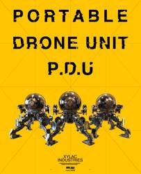 PDU Portable Drone Unit by NuMioH