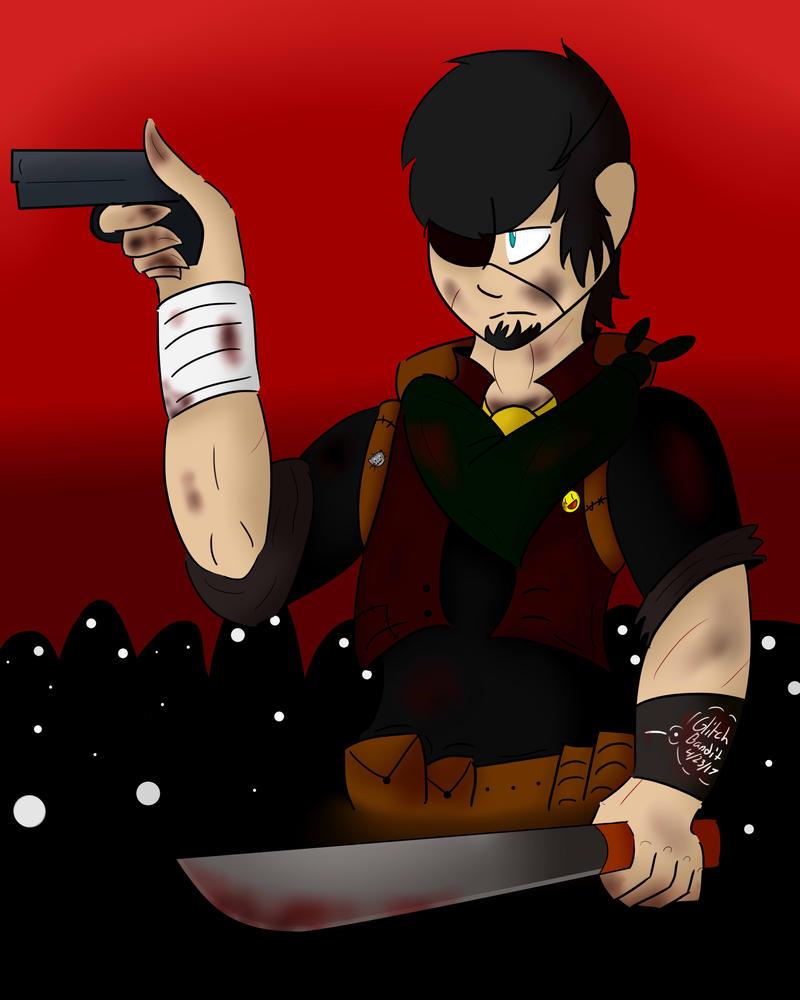 Zombie Apocalypse Vince by GlitchBandit