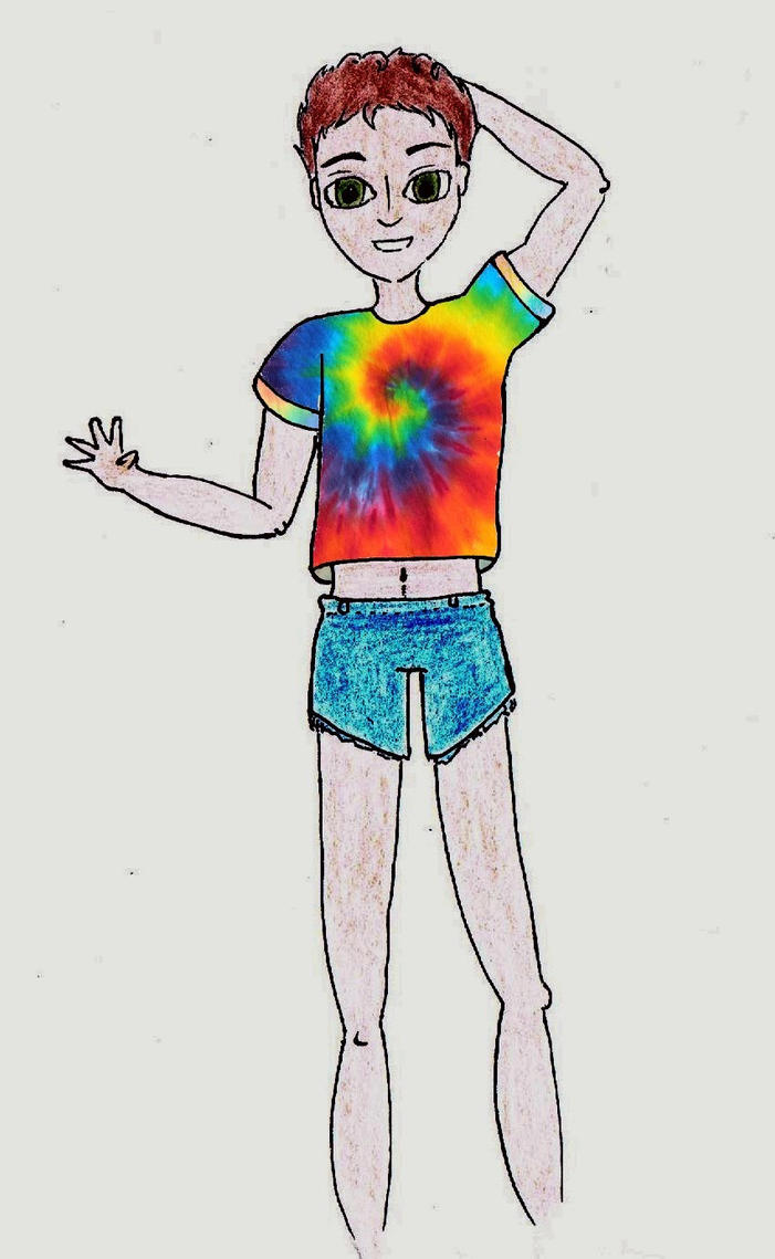 Tie and dye Julian by killhawkeye
