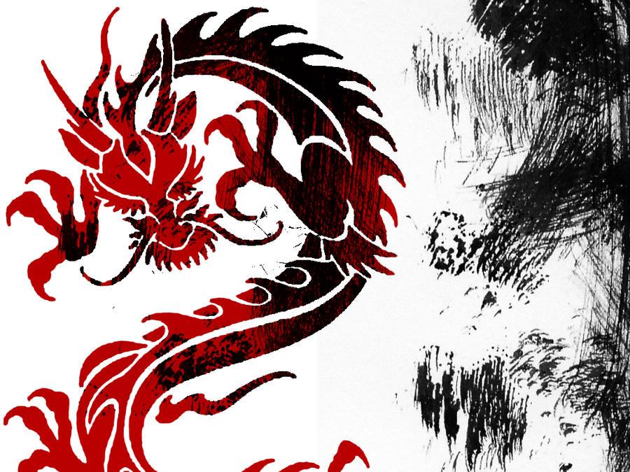 Dragon Wallpaper by LightSinger