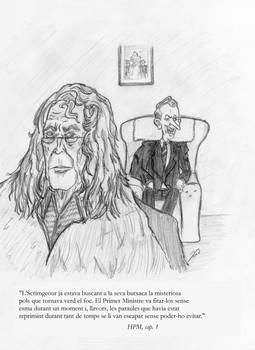 Rufus Scrimgeour i el Premier