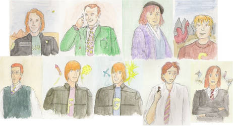 La famjlia Weasley