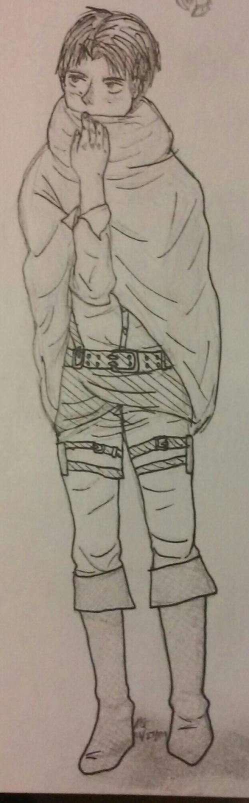 Levi Sketch by magicshoppingcart