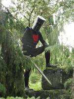 The Black Knight cosplay by Oloring
