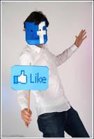 Facebook man cosplay by Oloring