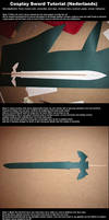 Cosplay Sword Tutorial (Dutch)