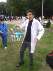 Heinz Doofenshmirtz cosplay - Phineas and Ferb by Oloring