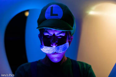 Death Stare Luigi Cosplay by Oloring