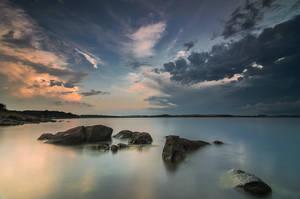 Otmanli sunset by ibasimaikataimeto
