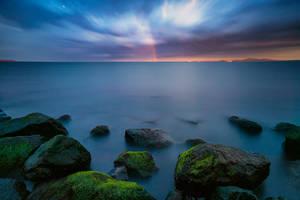 Sunset colors by ibasimaikataimeto