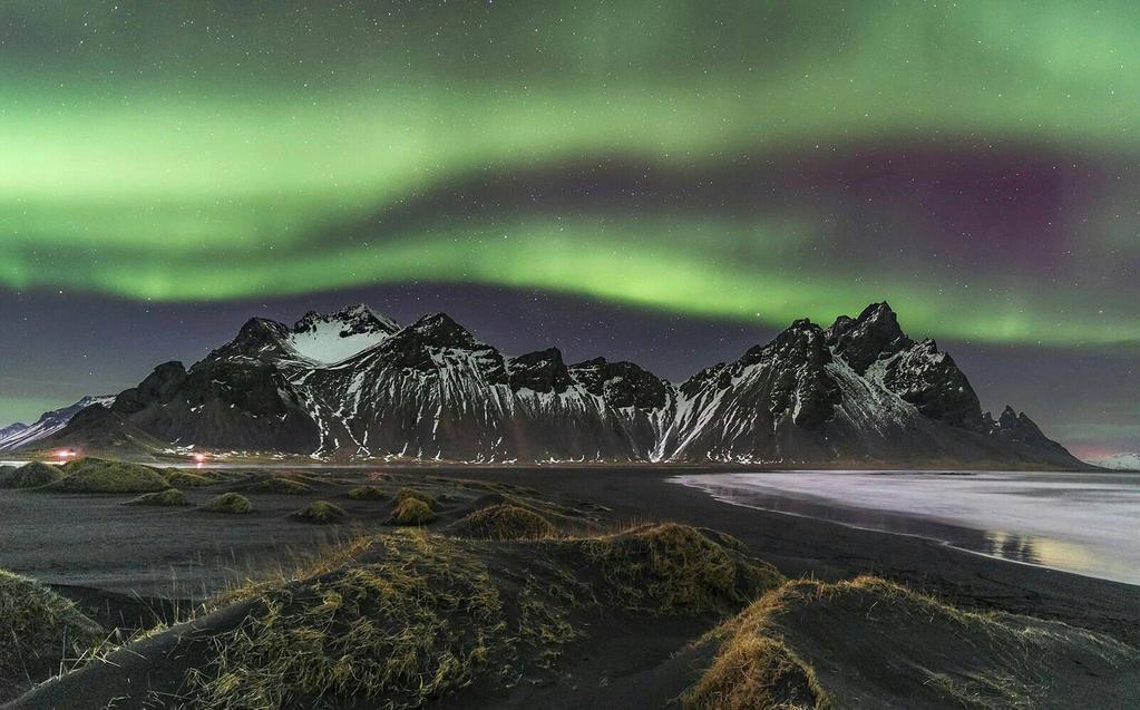 Aurora borealis by AstroYellowBox