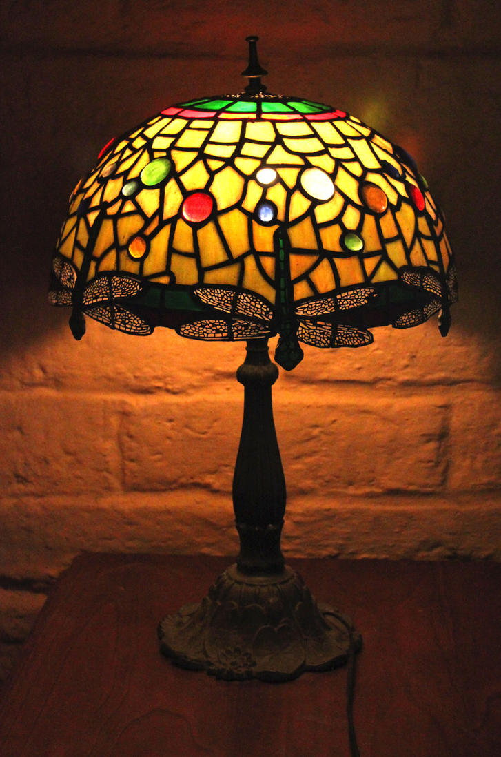 Tiffany style leadlight lamp by digimaree on deviantart tiffany style leadlight lamp by digimaree aloadofball Gallery