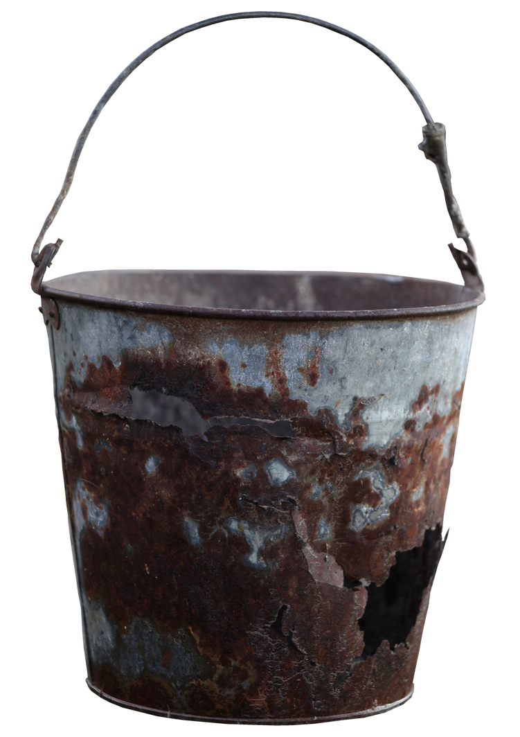 Rusty Bucket by Digimaree