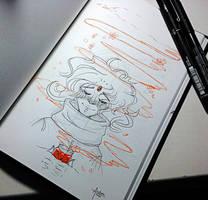 InkTober 15 - Soothed
