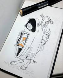 InkTober 23 - Time