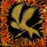 Hunger Games MockingJay by TheAshenDirewolf
