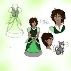 Black Butler: Cassia Character Sheet by TheAshenDirewolf