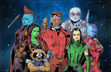 Guardians of the Galaxy Vol 2 by SteelhavenStudio