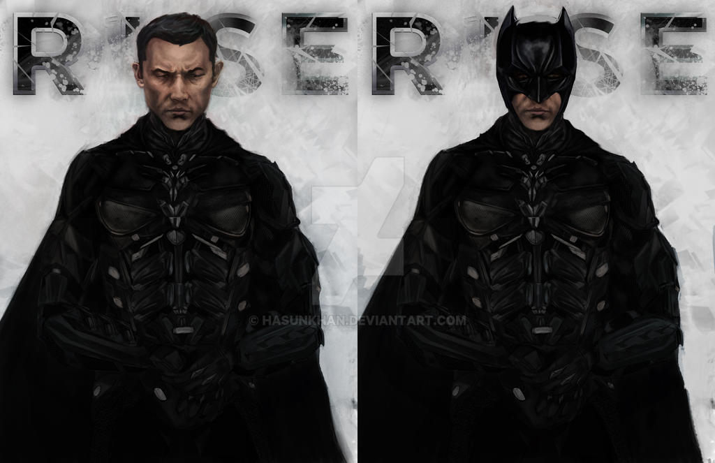 JGL as Batman by hasunkhan