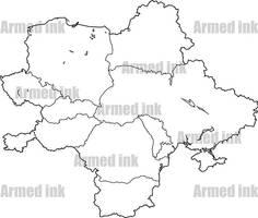 Eastern Europe map set