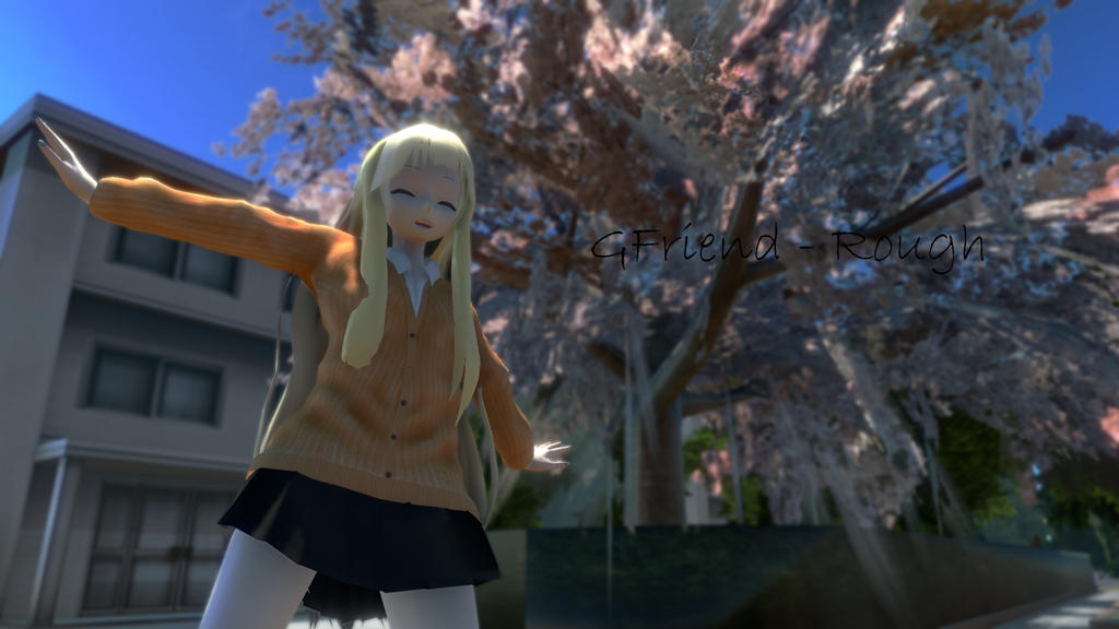 [MMD] GFriend - Rough [TDA JKStyle SeeU] by SeeUVocaloid3channel