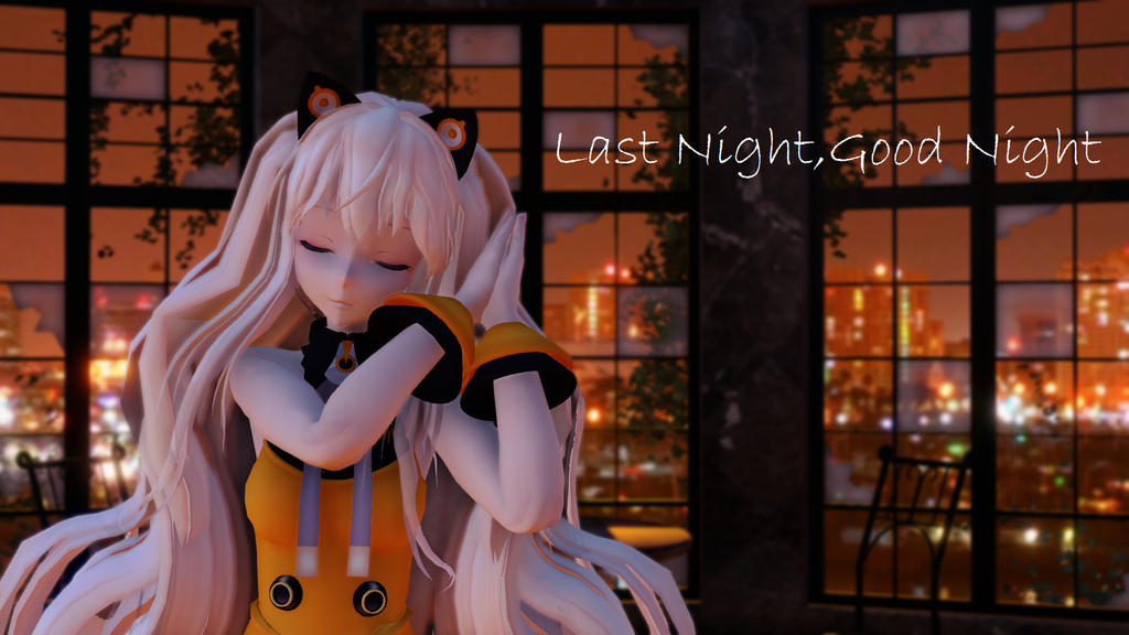 [MMD] Last Night,Good Night [Tda SeeU] by SeeUVocaloid3channel