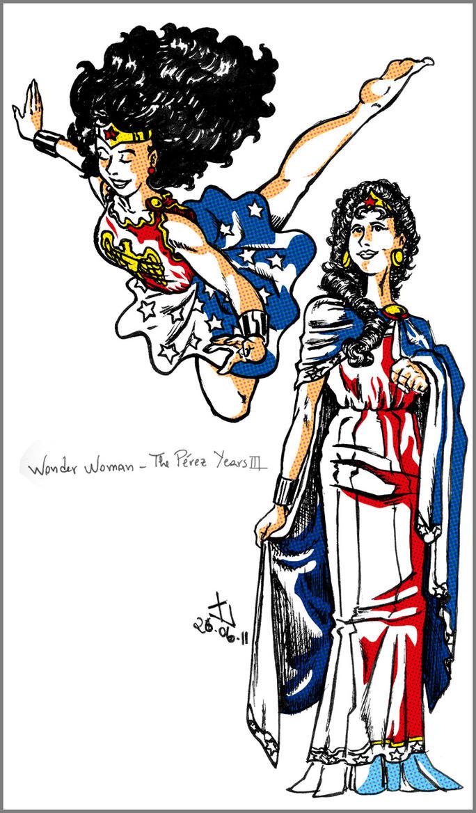 Wonder Woman - Perez years III by James-GF
