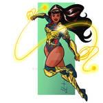 Yara Flor, the new Wonder Woman