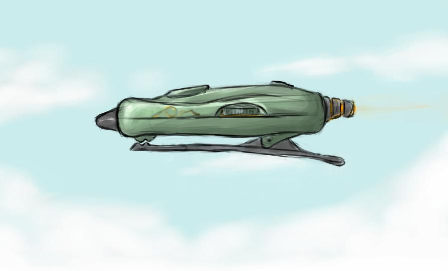 Headphone Airship by Morgoth883