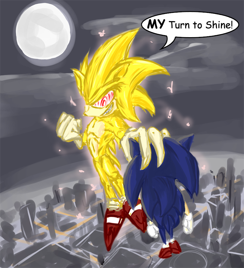 Super Sonics Birthday by Morgoth883