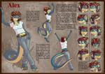Alex, Reference sheet 1 of 8 by Morgoth883