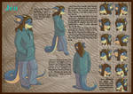 Jen, Reference sheet 3 of 8 by Morgoth883