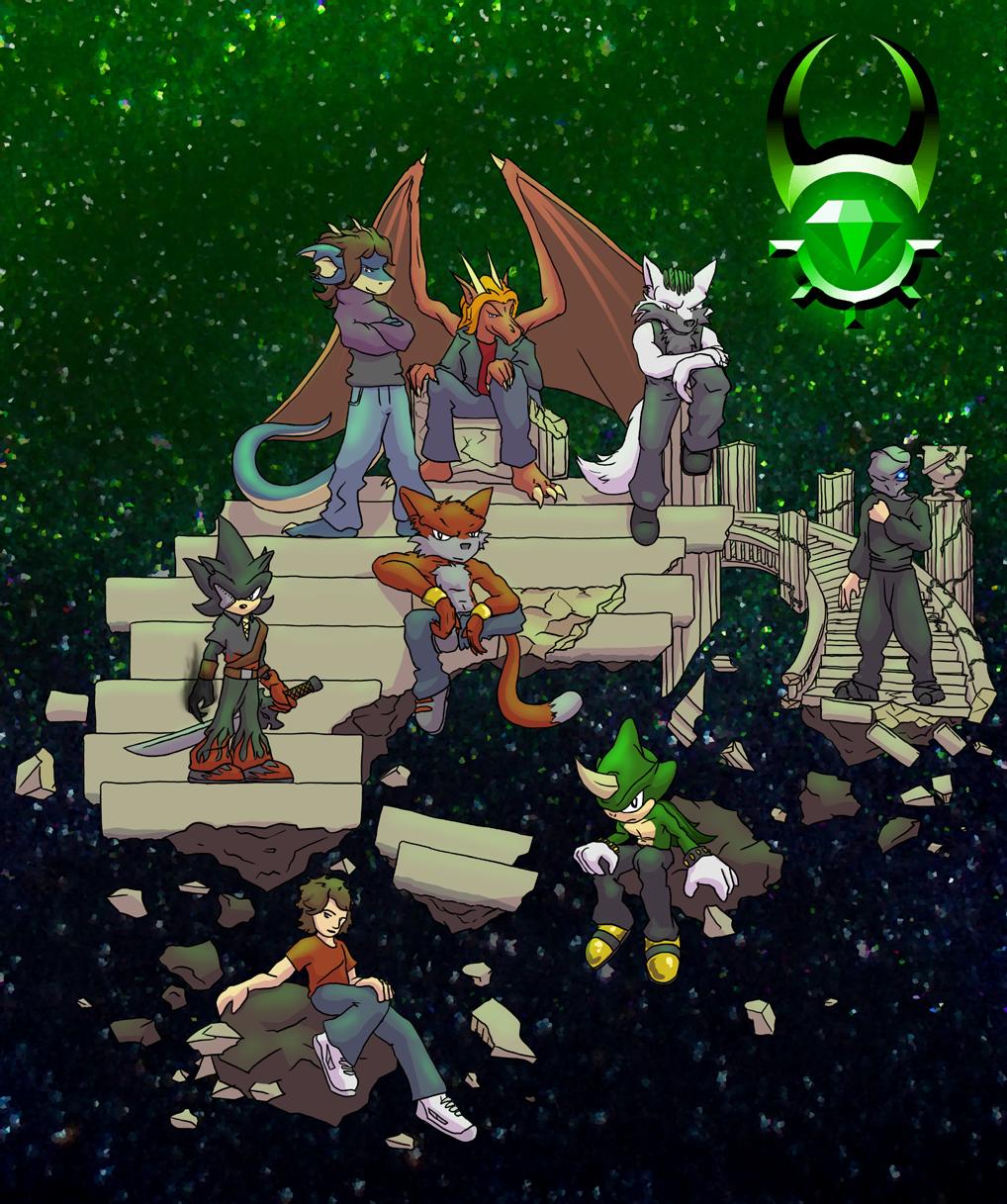 MOSH Staff Groupshot by Morgoth883