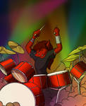 Anthros Drumming Commision
