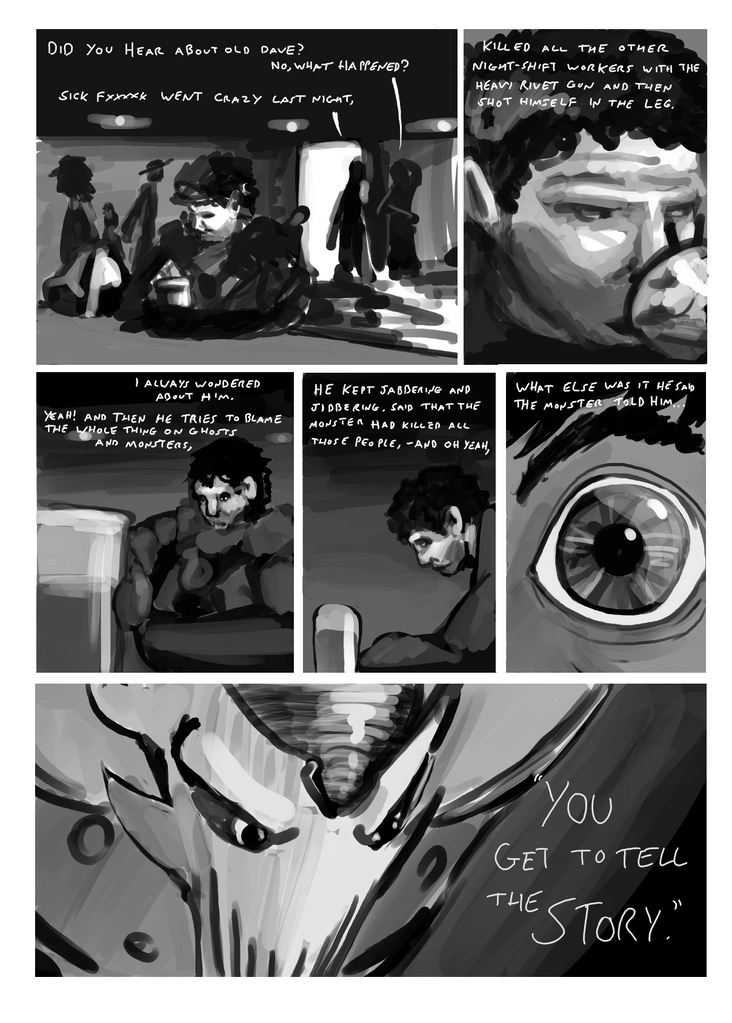 Lost Cymorg Comic by Morgoth883
