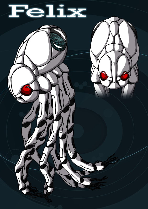 Felix the lonley octobot by Morgoth883