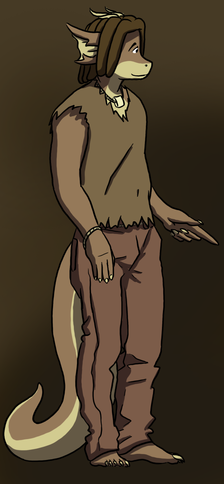 Skip pointing at nothing by Morgoth883