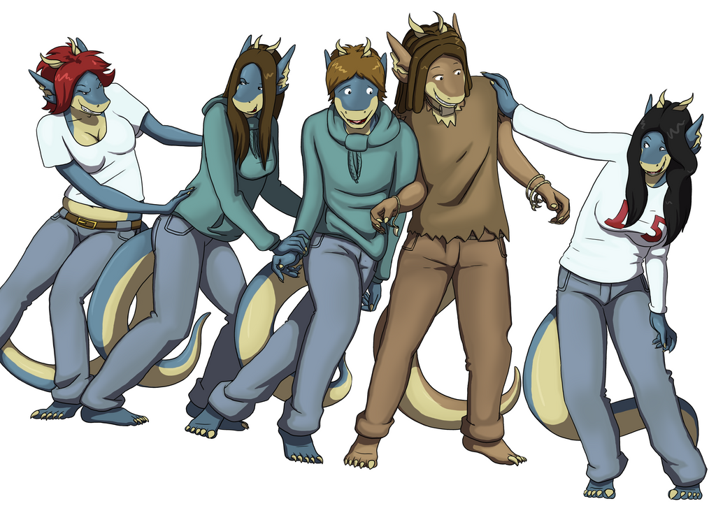 Some of the Darastrix Cast by Morgoth883