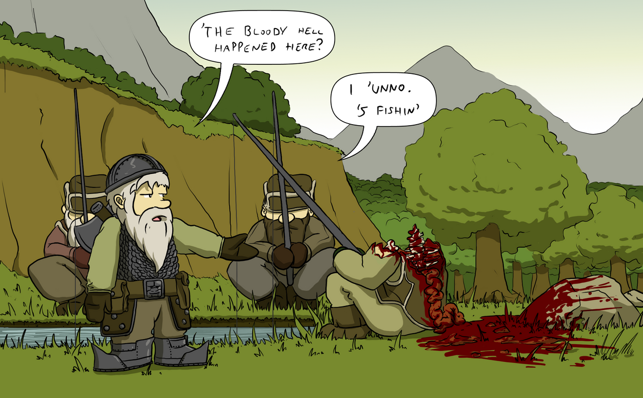 Fishing Accident by Morgoth883