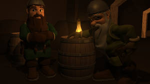 Dwarves - White and Brown by Morgoth883
