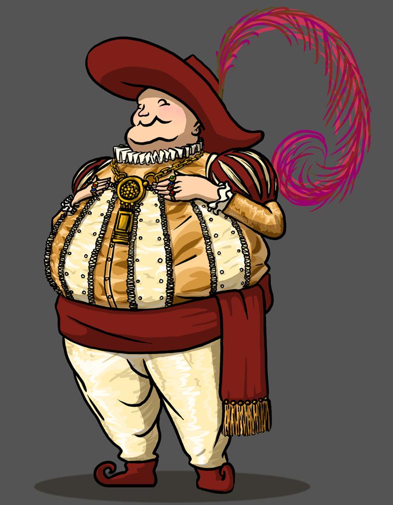 Jolly Fat Merchant by Morgoth883
