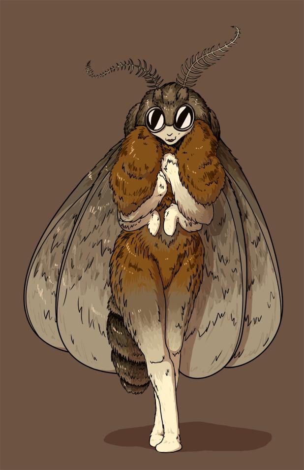 Moth Woman by Morgoth883