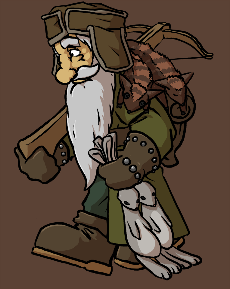 Dwarven Hunter by Morgoth883