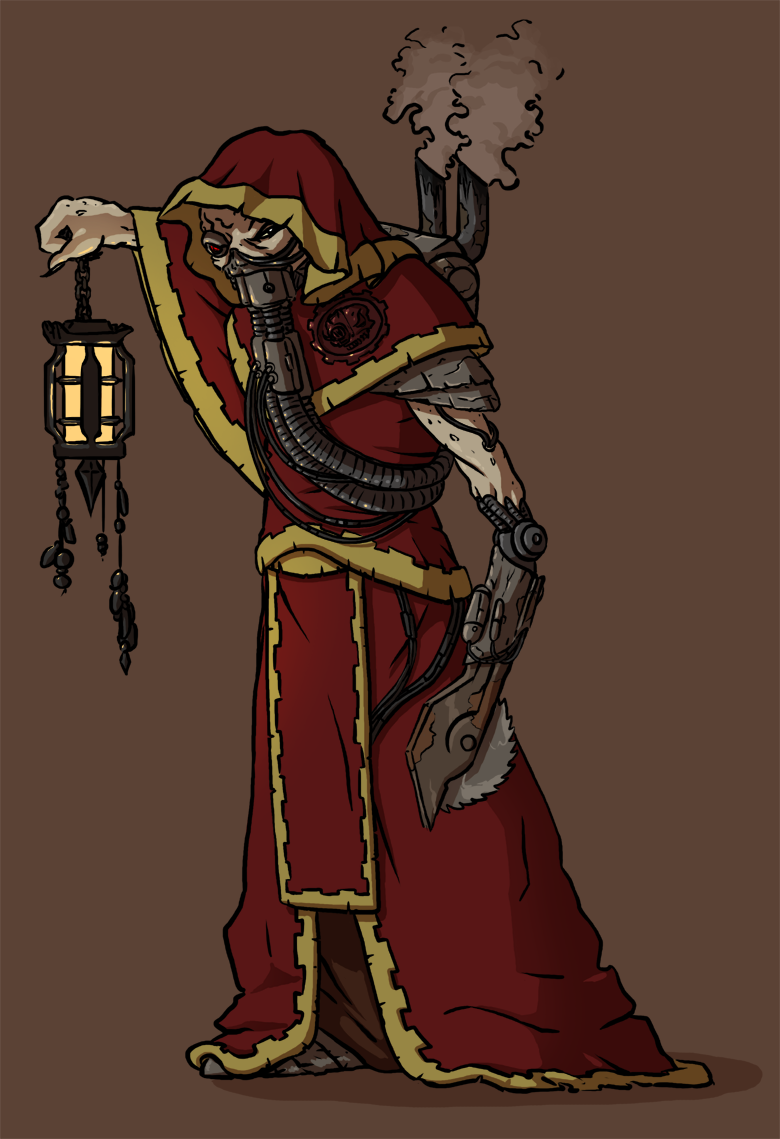Tech Priest by Morgoth883