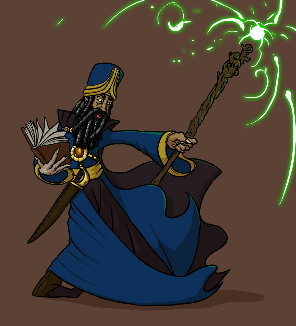 Wizard by Morgoth883