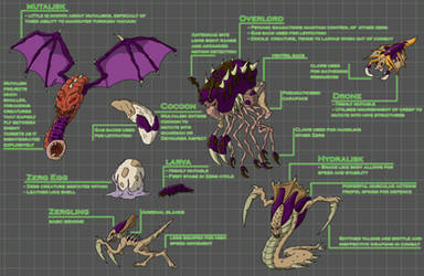 Zerg Fact Sheet by Morgoth883